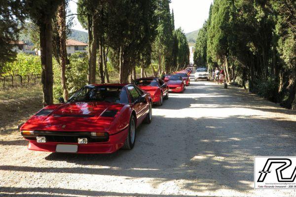Arrivo a Rufina, Villa Poggio Reale