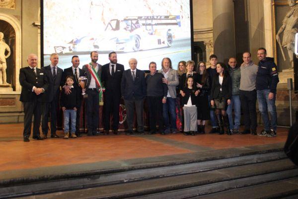 Premiazione Faggioli in Palazzo Vecchio (FI)
