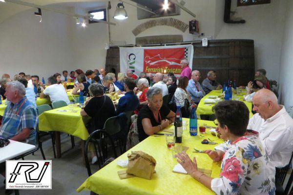 Pranzo presso Enoteca del Bacco, Trattoria dell AUDAX